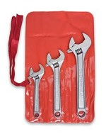 Crescent 3 Pc. Chrome Adjustable Wrench Set