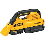 DeWALT 18V Cordless 1/2 Gallon Wet/Dry Vac Kit