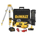 DeWALT 18V Cordless Self-Leveling Rotary Laser Kit