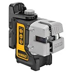 DeWALT Cordless Self-Leveling 3 Beam Line Laser Kit