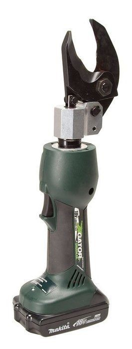 Greenlee Es32l Gator Battery Powered Cable Cutter With 12v