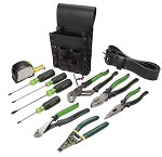 Greenlee Electrician's Tool Kit - 12 pc.