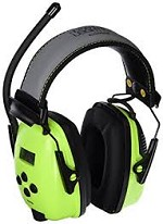 Howard Leight by Honeywell Sync Hi-Visibility Digital AM/FM Headband Radio Earmuffs