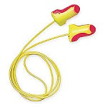 Howard Leight by Honeywell Laser Lite Corded Single-Use Earplugs Polybag