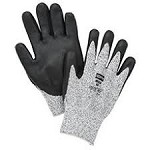 North by Honeywell Gray NorthFlex Light Task Plus Bi-Polymer Coated Gloves - Size 7S