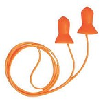 Howard Leight by Honeywell Quiet Corded Multiple-Use Earplugs Polybag