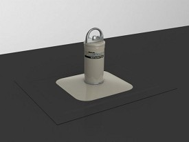 Miller By Honeywell Fusion Roof Anchor Post For Membrane