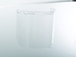 Jackson Safety 29087 Clear F20 Polycarbonate Face Shield-12 pk