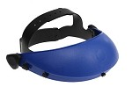 Paulson Ratchet Adjustable Headband with Sparkguard-Universal Pattern-Blue & Black