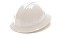 Pyramex SL Series Full Brim 4 Point Ratchet White Hard Hat - 12 pk.