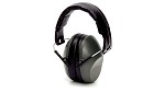 Pyramex VentureGear VG90 Series NRR 22dB Gray Earmuffs in Clamshell Package
