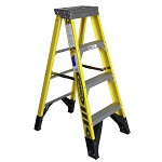 Werner 4 ft. Fiberglass Single Sided Stepladder 7300 Series