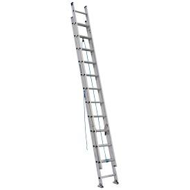 Werner 24 ft. Aluminum D-Rung Extension Ladder D1300-2