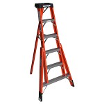 Werner 6 ft. Fiberglass Tripod Stepladder FTP6200 Series