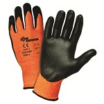 West Chester 703CONF Cut Resistant Nitrile Palm Coated Gloves Size S - 12 pk.
