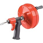 Ridgid Power Spin Hand Spinner with Autofeed and Straight Auger