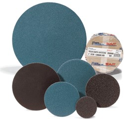 "Sait 12"" 80 Grit Z-X Cloth Disc - 25 pk."