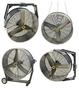 "Airmaster 60470 30"" Portable Mancooler 4-in-1 Fan"