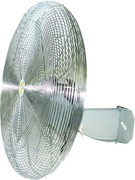 "Airmaster 71566 30"" Oscillating Wall Mount Industrial Air Circulator Fan"