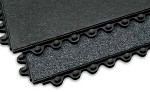 Apache Mills 3 ft x 3 ft Performa SD General Purpose Black Wet Anti-Fatigue Mat