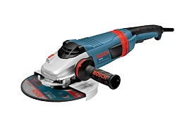 "Bosch 7"" 15.0 Amp Angle Grinder with Lock-On Trigger Switch"