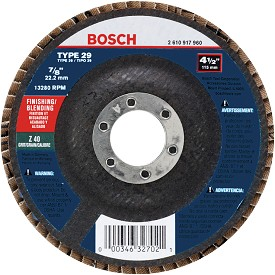 "Bosch 6"" Blending and Grinding Abrasive Wheel"