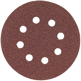 "Bosch 6"" 240 Grit Sanding Disc for Wood - 5 pk."