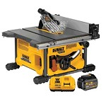 DeWALT FlexVolt 60v Table Saw-1 Battery Kit