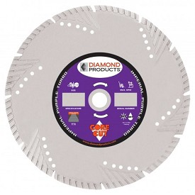 "Diamond Products 79952 12"" x .125 Imperial Purple High Speed Turbo Blade"
