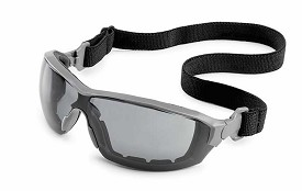 Gateway Silverton Gray Frame, Black Head Strap, Gray FX2 Anti-Fog Lens - 10 pk.