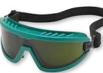 Gateway Wheelz Soft Green Frame, IR Filter Shade 5.0 Lens Safety Goggle Glasses - 24 pk.