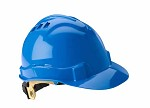 Gateway Serpent Cap Style Vented Blue Shell, Ratchet Suspension Safety Helmet Hard Hat - 10 pk.