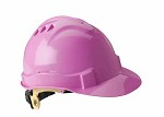 Gateway Serpent Cap Style Unvented Pink Shell, Ratchet Suspension Safety Helmet Hard Hat - 10 pk.