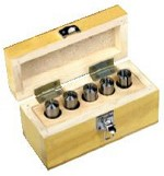 Palmgren by C H Hanson 5 pc. 2MT Round Collet Set 9684520 Mill Lathe Combo