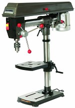 Palmgren by C H Hanson 5 Speed Bench Step Pulley Radial Arm Drill Press