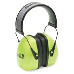 Howard Leight by Honeywell Leightning Hi-Visibility Headband Noise-Blocking Earmuffs