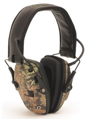Howard Leight by Honeywell Impact Sport Camouflage Folding Stereo Earmuffs