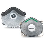 Honeywell SAF-T-FIT Mask with Valve and Odor Relief Respirator Size Small - 10 pk.