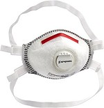 Honeywell SAF-T-FIT Mask with Valve and Full Seal Respirator Size Med/Lrg