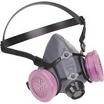 North by Honeywell Half Mask Respirator with P100 Filters