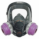 North by Honeywell Full Facepiece Respirator with 5-Point Headstrap - Size Medium/Large