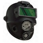 North by Honeywell Full Facepiece Respirator with 5-Point Headstrap and Welding Attachment - Size Small