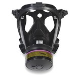 Honeywell Survivair Opti-Fit Tactical Gas Mask with 5-Point Straps Size - Medium