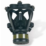 Honeywell Survivair Opti-Fit CBRN Gas Mask with 5-Point Straps and Hydration Tube Size - Large