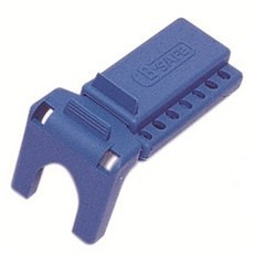 "Honeywell B-Safe 3.1"" x 3.2"" Blue Valve Lockout"