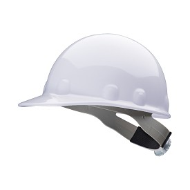 Fibre-Metal by Honeywell E2 Ratchet Suspension White Hard Hat