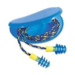 Howard Leight by Honeywell Fusion Corded Multiple-Use Earplugs HearPack