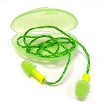 Howard Leight by Honeywell Fusion Small Corded Multiple-Use Earplugs 5PR Resealable Bag HearPack
