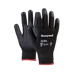 Honeywell Perfect-Coat Kevlar Gloves w/ Black Latex Coating - Size 9L