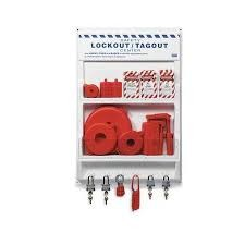 "Honeywell 18"" x 24"" Lockout/Tagout Station"